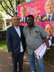 Séance de collage, merci aux militants et aux militantes qui se mobilisent pour ma candidature !