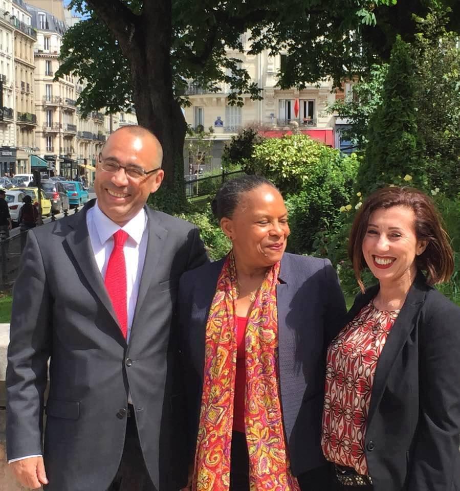 Mercredi 7 juin  20h30, réunion publique avec Christiane Taubira et LaurentCathala