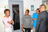Visite de la médiathèque d'Orly