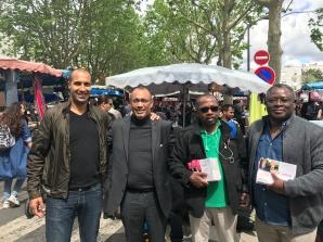 En campagne au Marché du Mont-Mesly